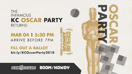 Post image for Kansas City's Most Infamous Oscar Party is Back in 2018!